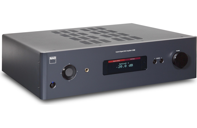 NAD C 388 Hybrid Digital DAC Integrated Amplifier
