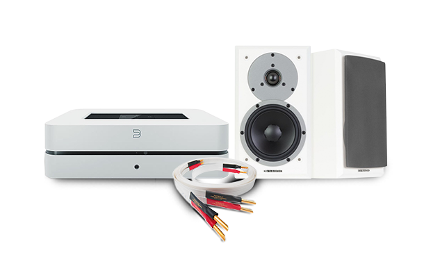 Bluesound PowerNode 2 + Dynaudio Emit M10 + Nordost White Lightning Speaker  Cable
